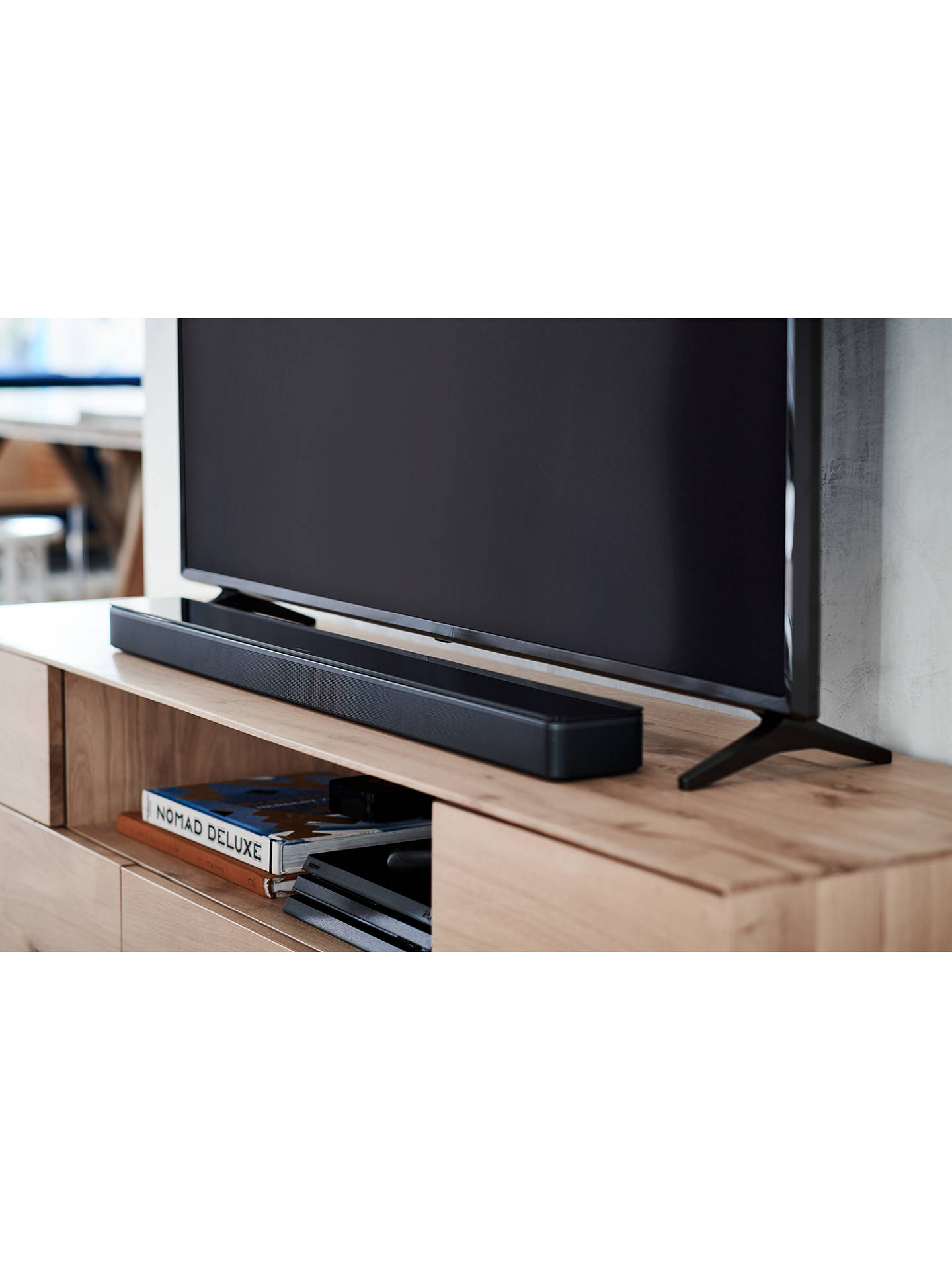 BuyBose® Sound Bar 700 with Wi-Fi, Bluetooth & Alexa Voice Recognition and Control, Black Online at johnlewis.com