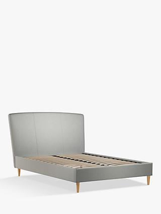 John Lewis & Partners Twiggy Upholstered Bed Frame, Double, Mole Grey