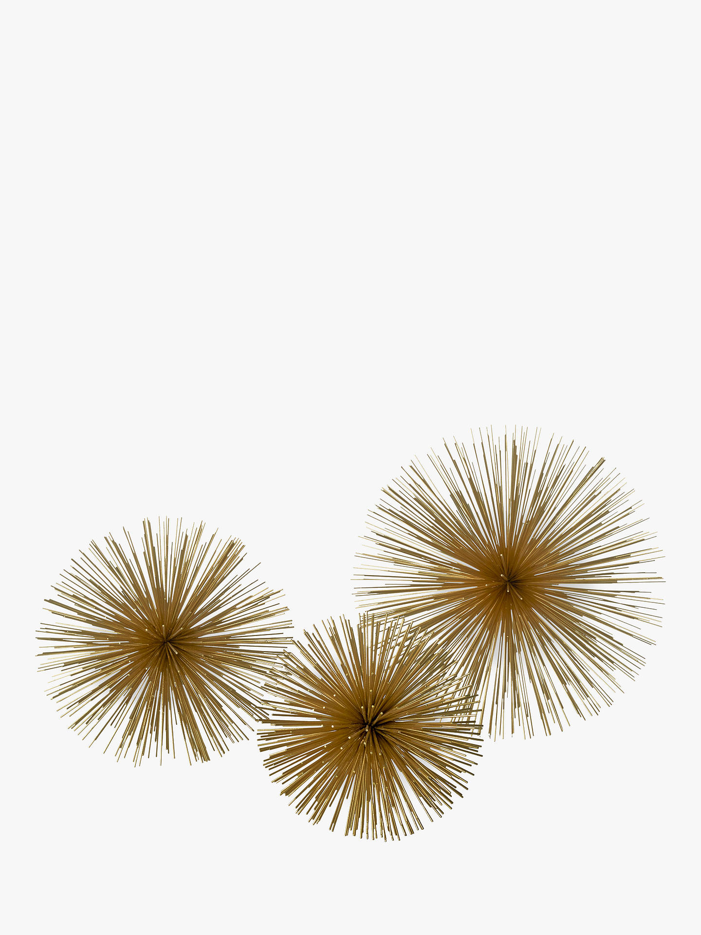 BuyPols Potten Brass Prickle Decorative Ornament, Small Online at johnlewis.com