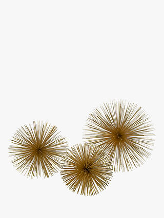 Buy pols potten Prickle Decorative Ornament, Gold, Small Online at johnlewis.com