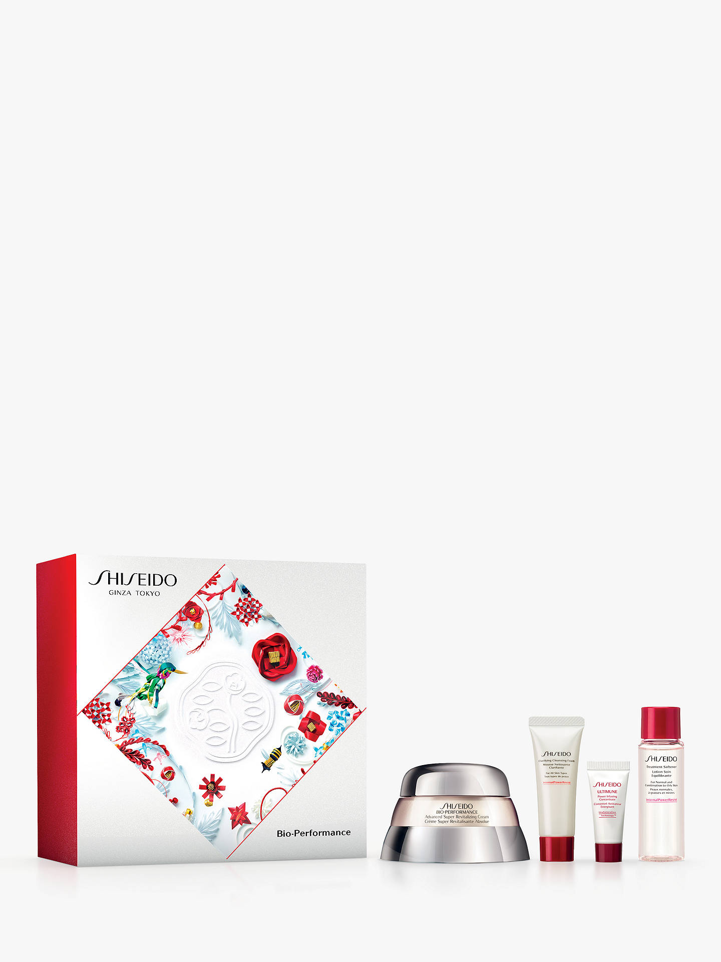 BuyShiseido Bio-Performance Advanced Super Revitalizing Cream 50ml Skincare Gift Set Online at johnlewis.com