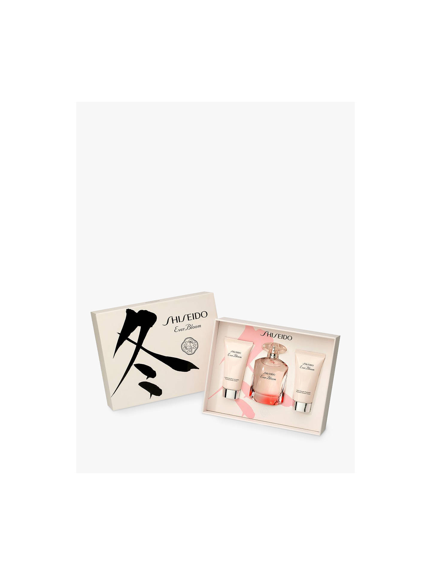 Buy Shiseido Ever Bloom 50ml Eau de Parfum Fragrance Gift Set Online at johnlewis.com