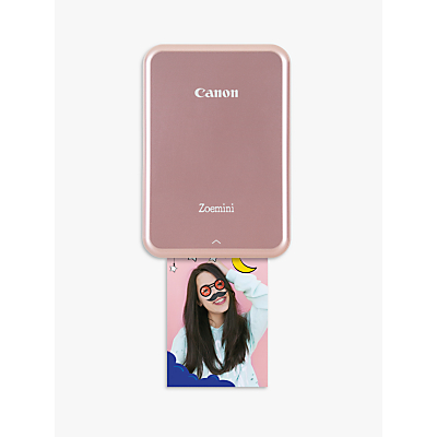 Image of Canon Zoemini Mobile Photo Printer, Rose Gold