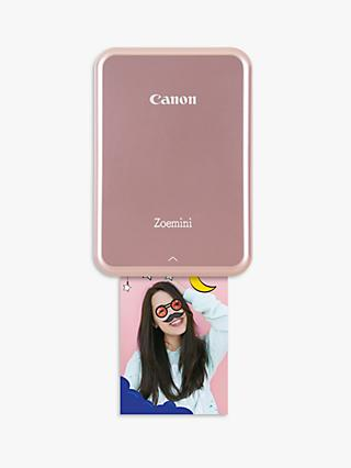 Canon Zoemini Mobile Photo Printer, Rose Gold