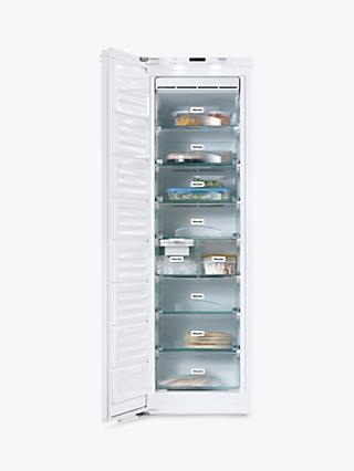 Miele FNS37492iE Tall Integrated Freezer, A++ Energy Rating, 56cm Wide, Neutral