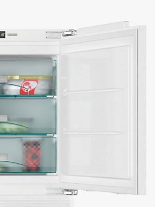 Miele F31202Ui Built-Under Freezer, A++ Energy Rating, 60cm Wide, Neutral