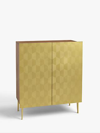 John Lewis & Partners + Swoon Beauvoir Sideboard, Gold