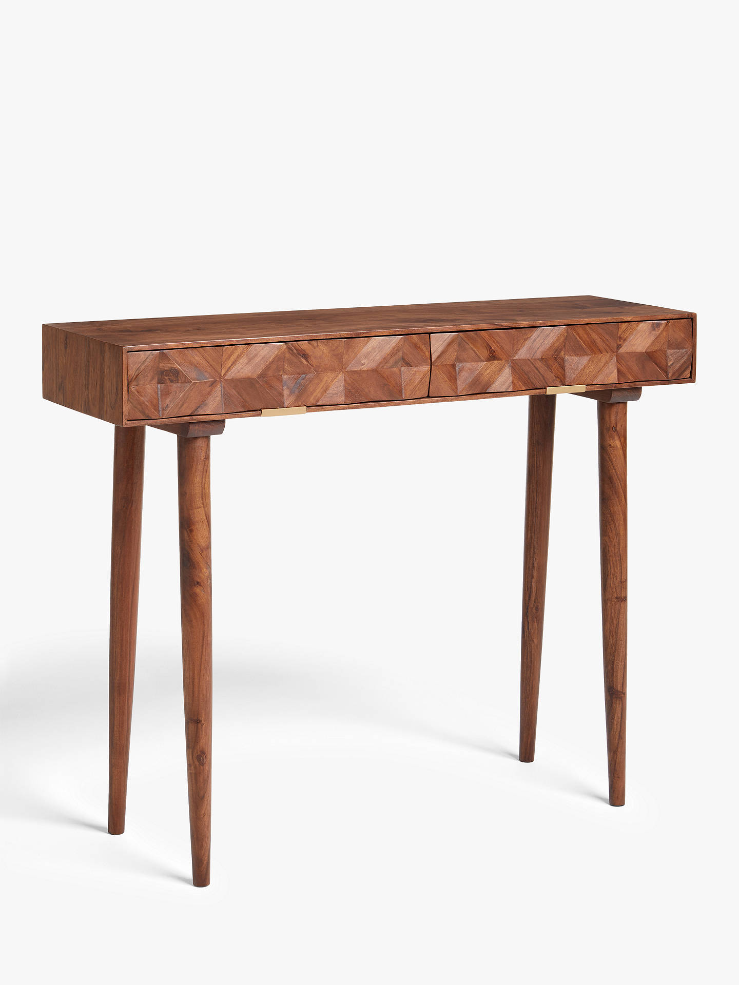 Swell John Lewis Partners Swoon Franklin Console Table Brown Spiritservingveterans Wood Chair Design Ideas Spiritservingveteransorg