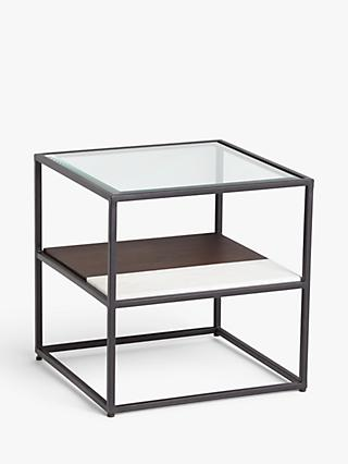 John Lewis & Partners + Swoon Brunel Side Table, Black