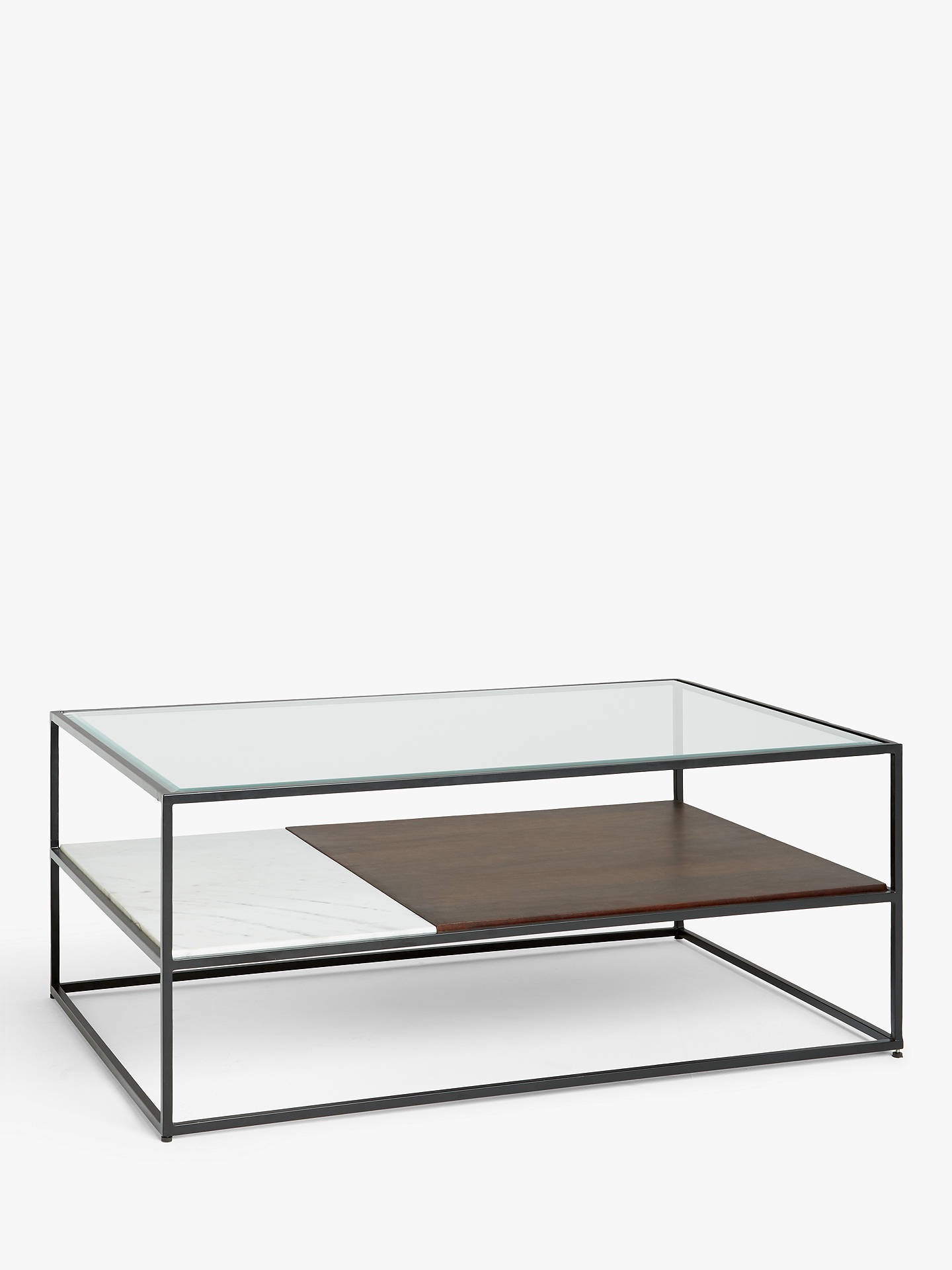 John Lewis Partners Swoon Brunel Coffee Table Black