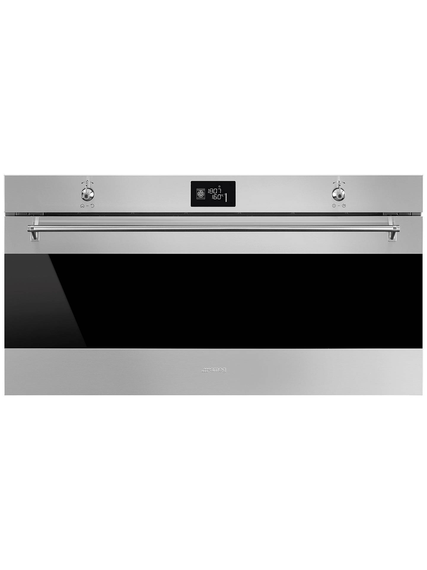 BuySmeg SFR9390X Classic Built-In Multifunction Single Oven, Stainless Steel Online at johnlewis.com