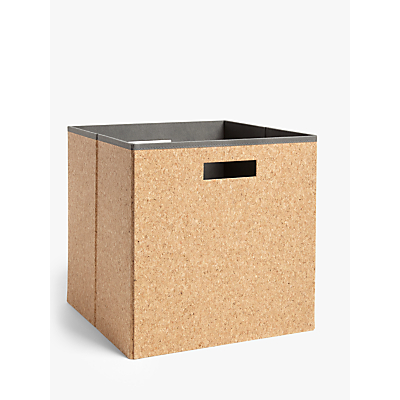 House by John Lewis Cork Folding Box