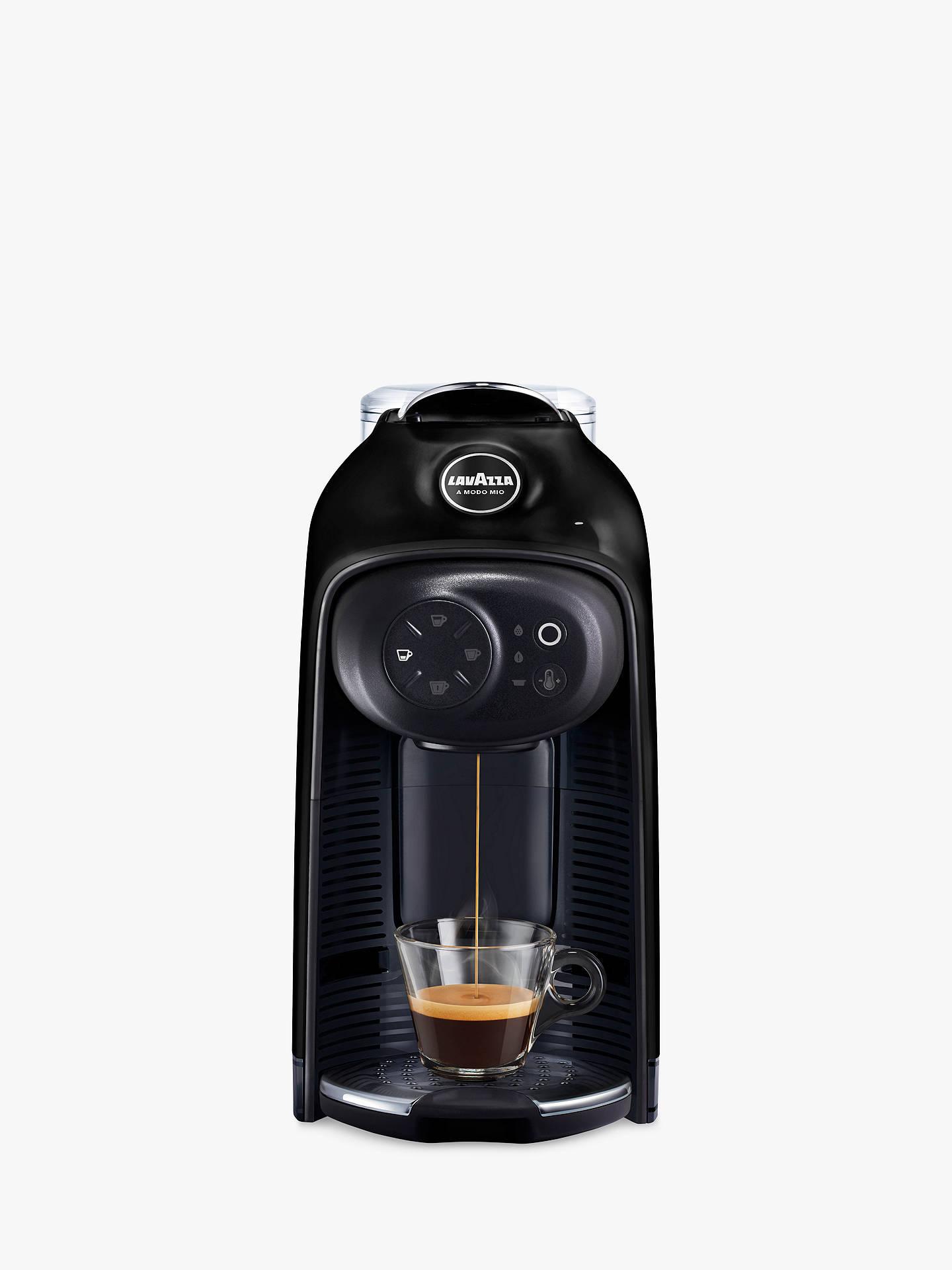 Lavazza A Modo Mio Idola Coffee Machine Black