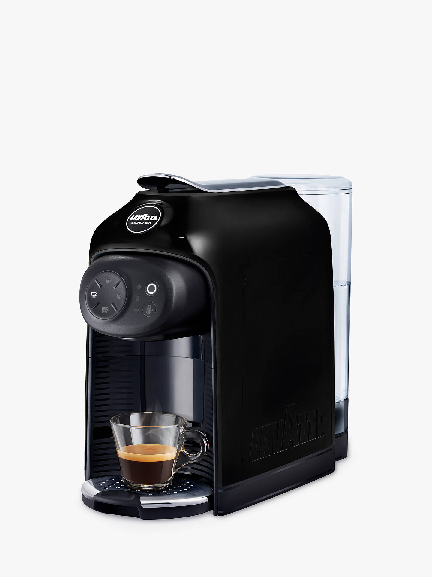 Buy Lavazza A Modo Mio Idola Coffee Machine, Black Online at johnlewis.com
