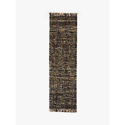 Croft Collection Dalton Jute Wool Runner, L240 x W70 cm