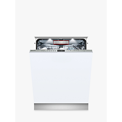 Neff N 70 S515T80D0G Integrated Dishwasher with doorOpen Assist, A+++ Energy Rating, W59.8cm, Silver