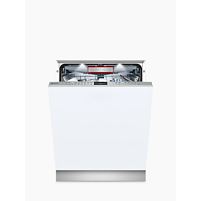 Neff N 90 S517T80D1G Integrated Dishwasher with doorOpen Assist, A+++ Energy Rating, W59.8cm, Silver