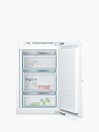 Bosch Serie 6 GIV21AF30G Built-In Freezer, A++ Energy Rating, White