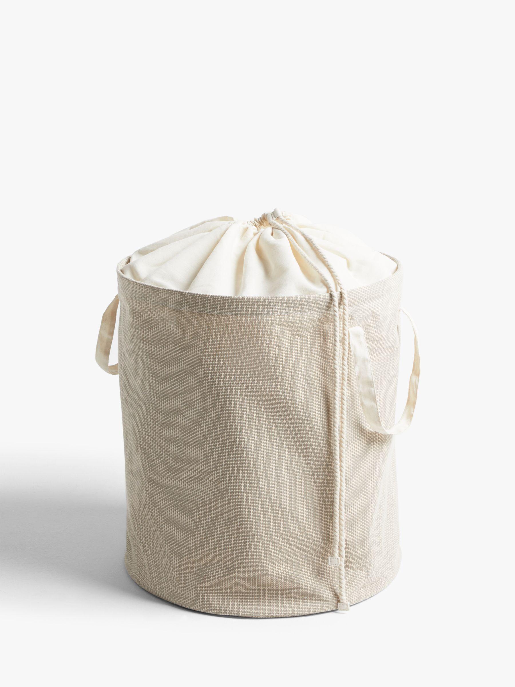 John Lewis & Partners Pop-Up Laundry Hamper, Natural