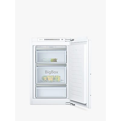 Image of NEFF GI1213F30G 56cm Wide Integrated Upright In-Column Freezer - White