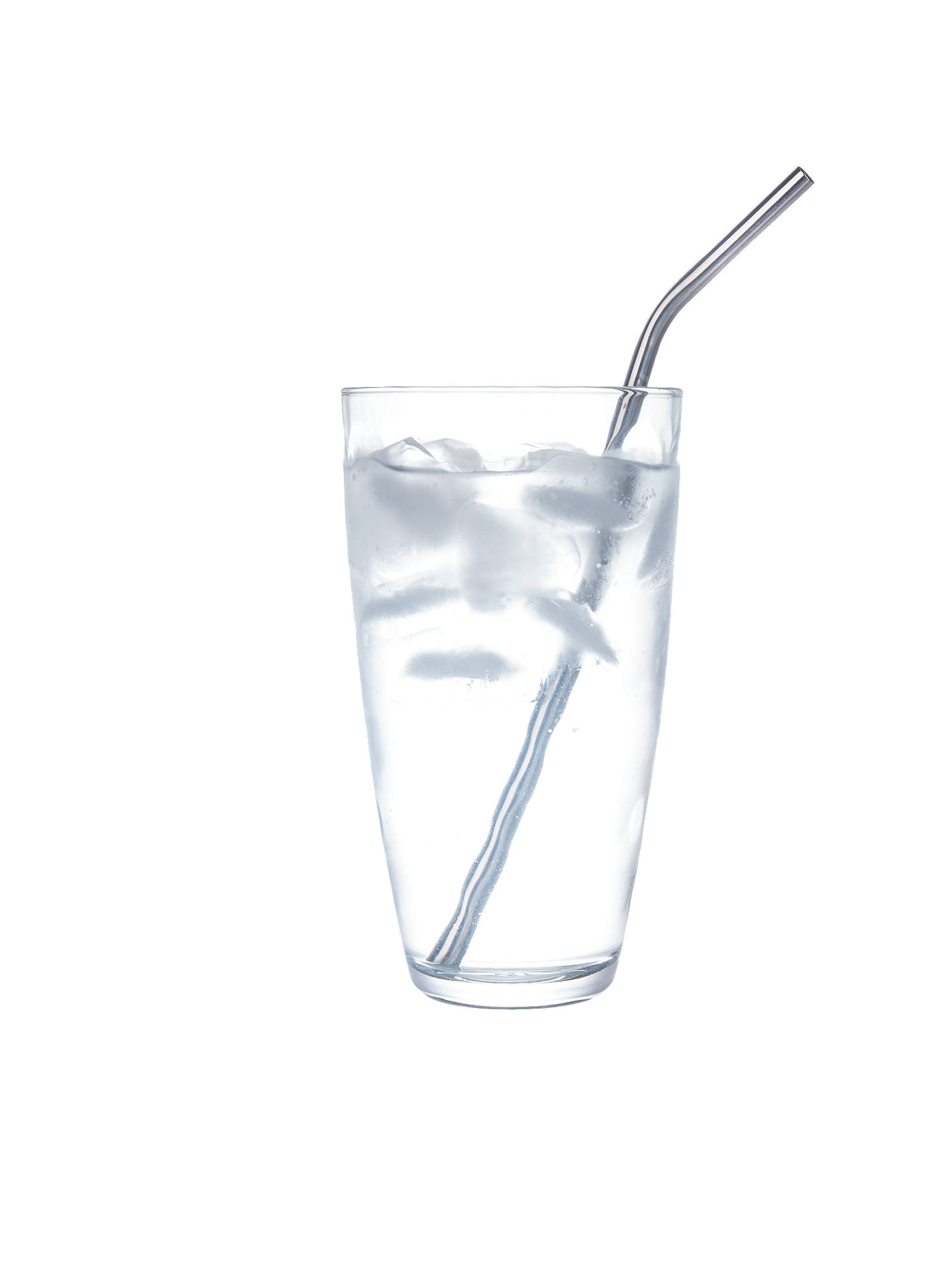 BuyMixology Stainless Steel Freezable Straws, Pack of 6, Silver Online at johnlewis.com