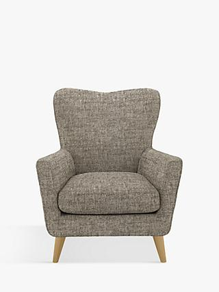 John Lewis & Partners Thomas Armchair, Light Leg, Arya Navy