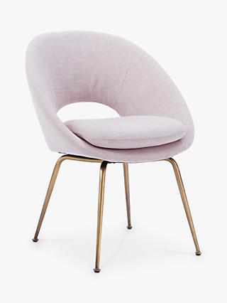 west elm Orb Dining Chair, Dusty Blush