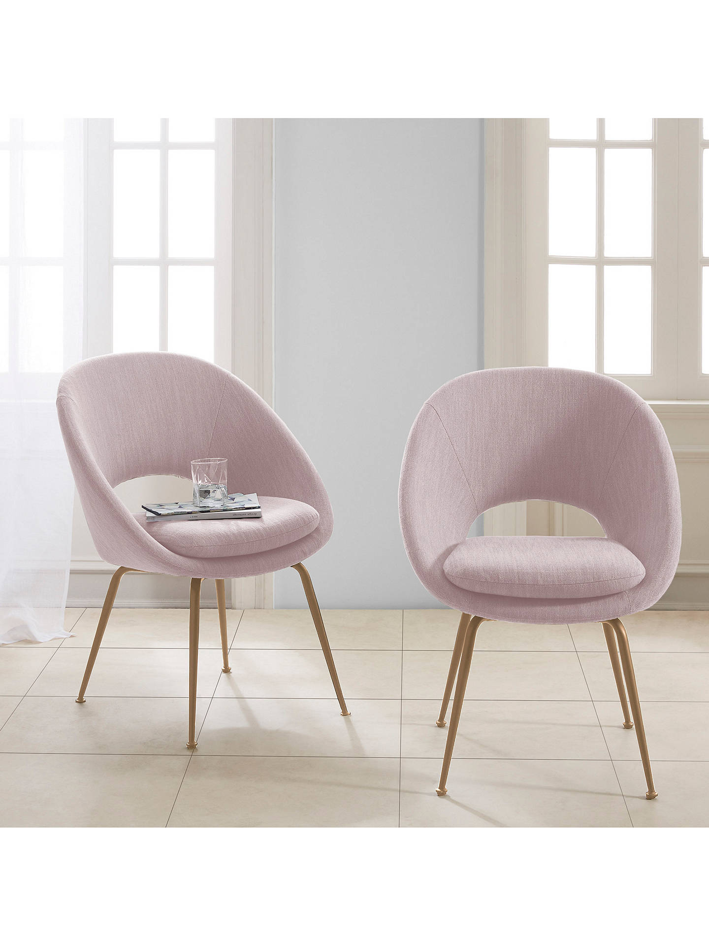 Marvelous West Elm Orb Dining Chair Dusty Blush Gmtry Best Dining Table And Chair Ideas Images Gmtryco