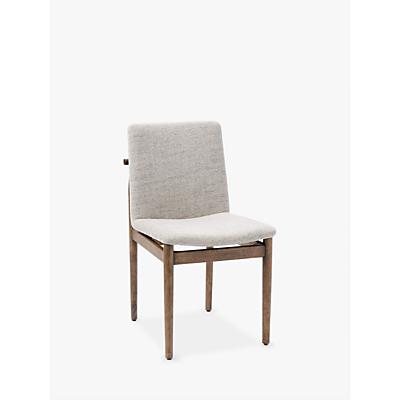 west elm Framework Dining Chair, Twill/Walnut