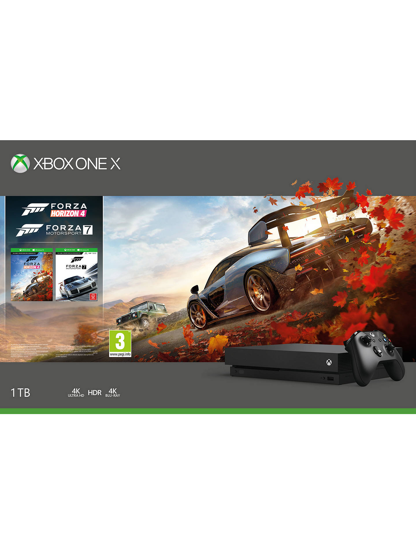 microsoft xbox one x console 1tb with wireless. Black Bedroom Furniture Sets. Home Design Ideas