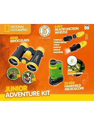 National Geographic Junior Adventure Kit