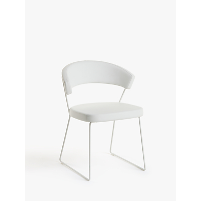 Connubia by Calligaris New York Leather Dining Chair