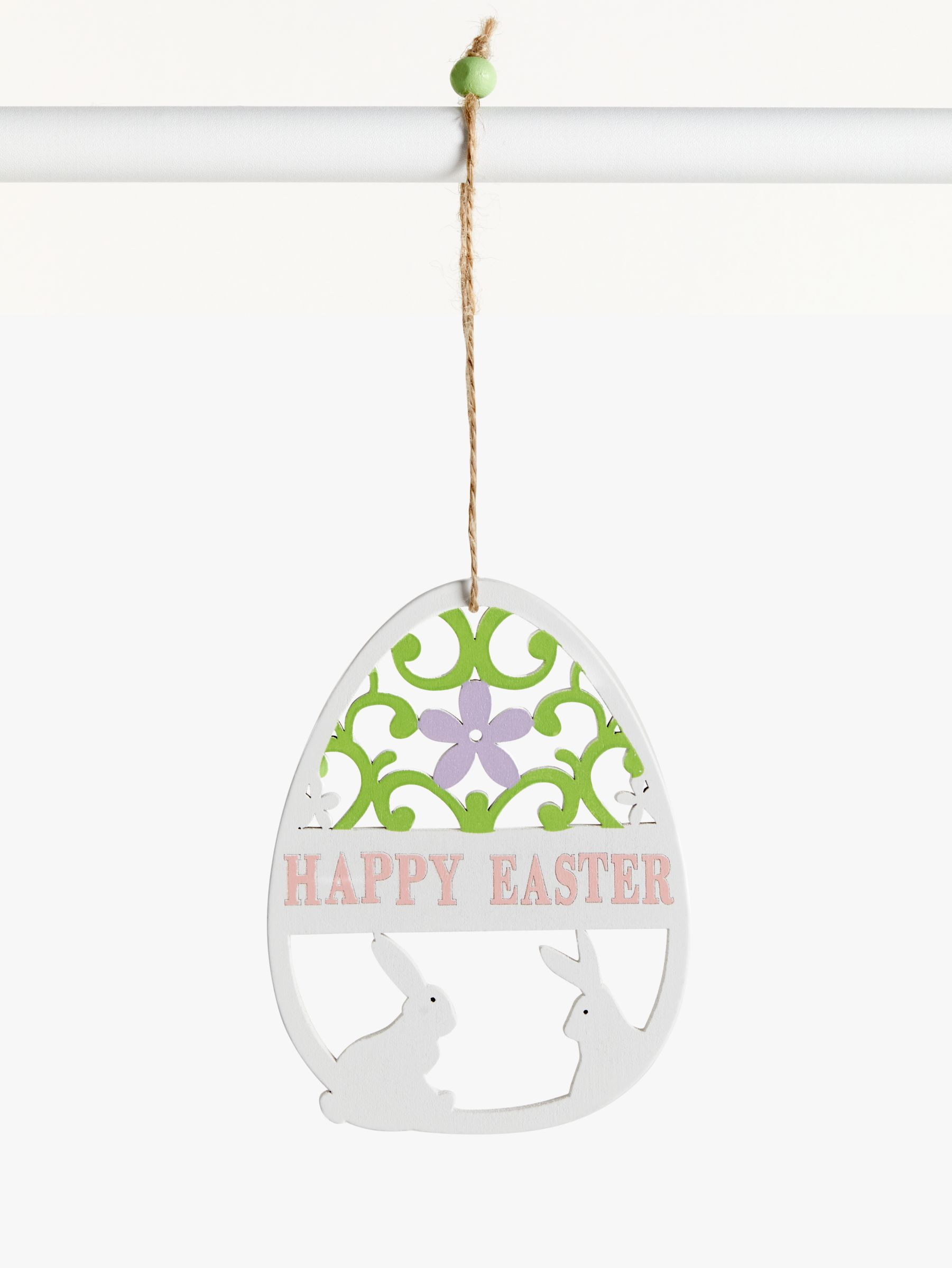 John Lewis Partners Laser Cut Out Easter Decoration