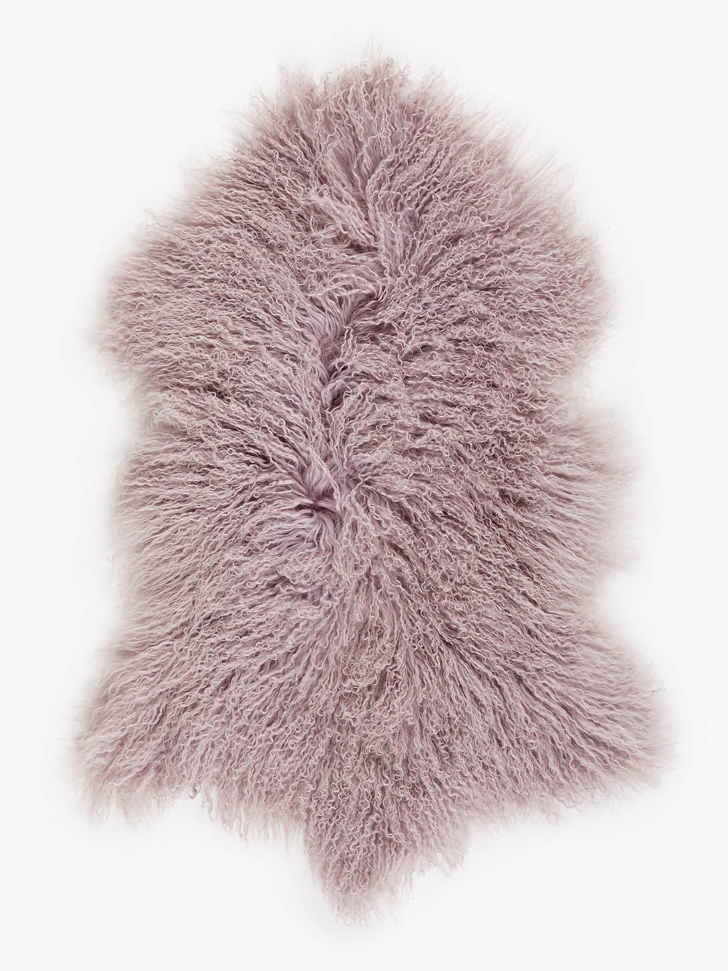 Sheepskin Mongolian Rug