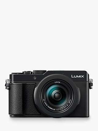 "Panasonic Lumix DMC-LX100M2 Camera, 4K Ultra HD, 17MP, 3.1x Optical Zoom, EVF, 3"" LCD Touch Screen, Black"