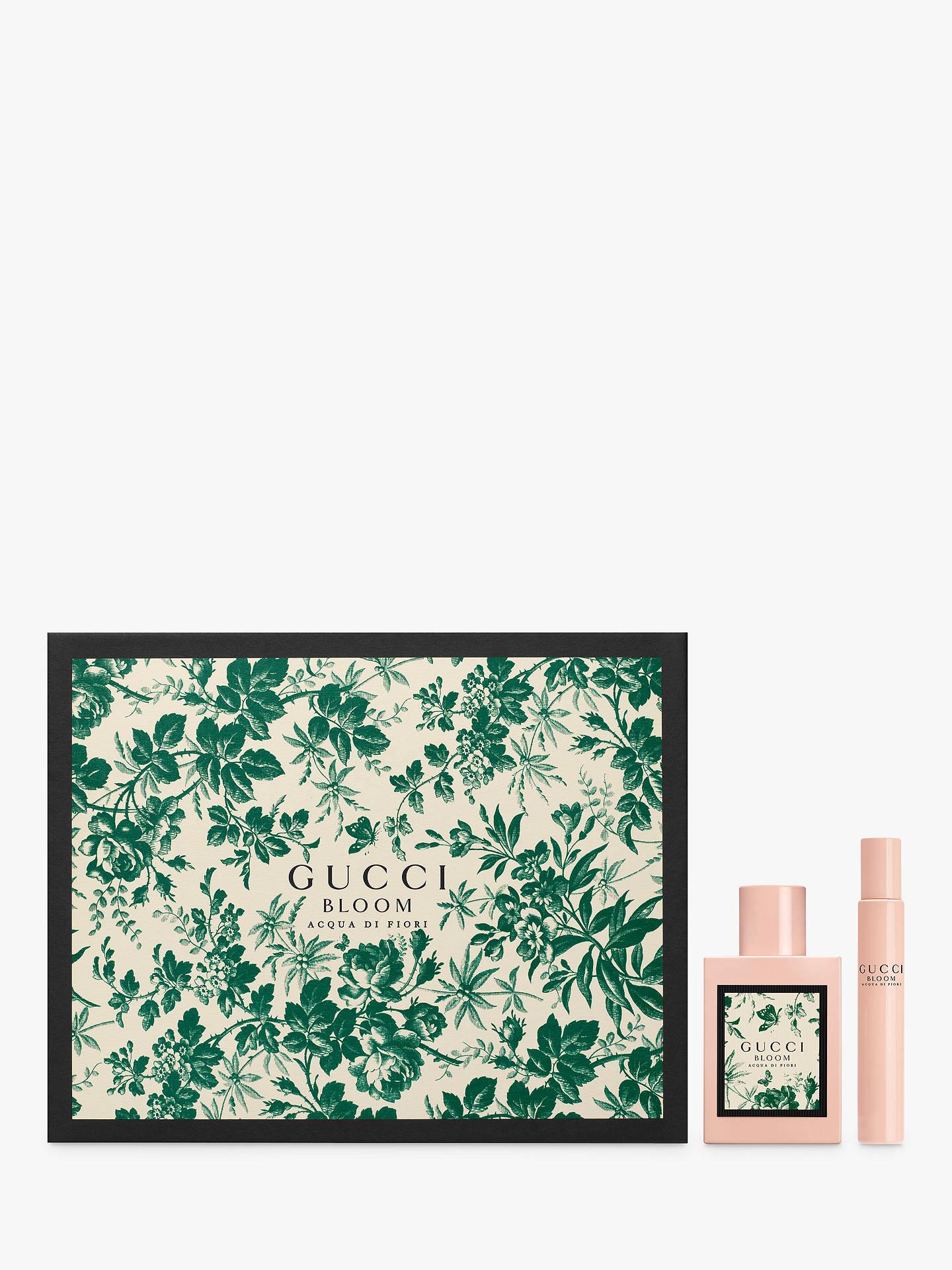 8e922376199 Buy Gucci Bloom Acqua di Fiori 50ml Eau de Toilette Fragrance Gift Set  Online at johnlewis