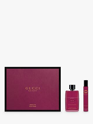 Gucci Guilty Absolute Pour Femme 50ml Eau de Parfum Fragrance Gift Set