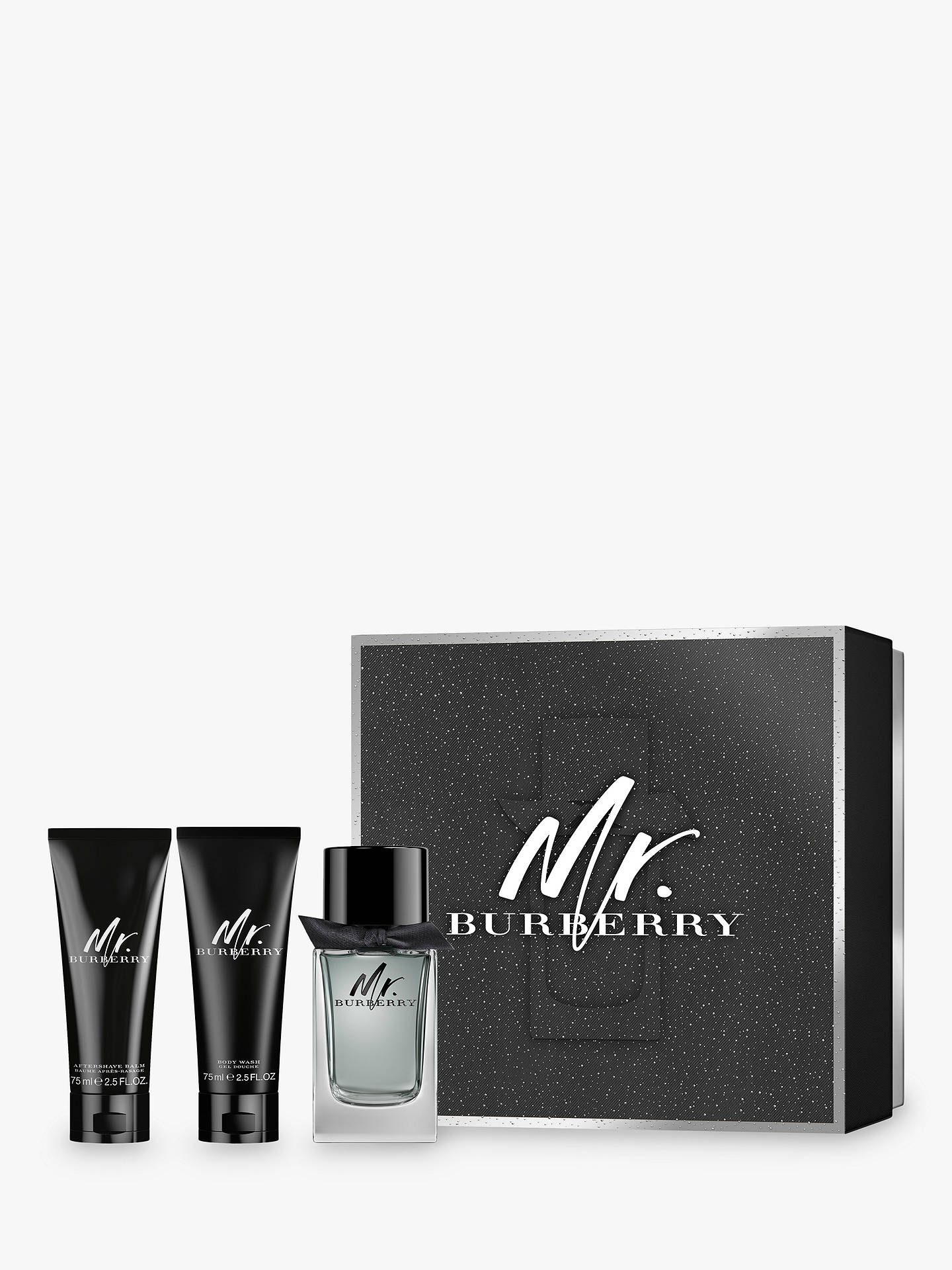 735d9c3e92 Buy Mr. Burberry 100ml Eau de Toilette Fragrance Gift Set Online at  johnlewis.com ...