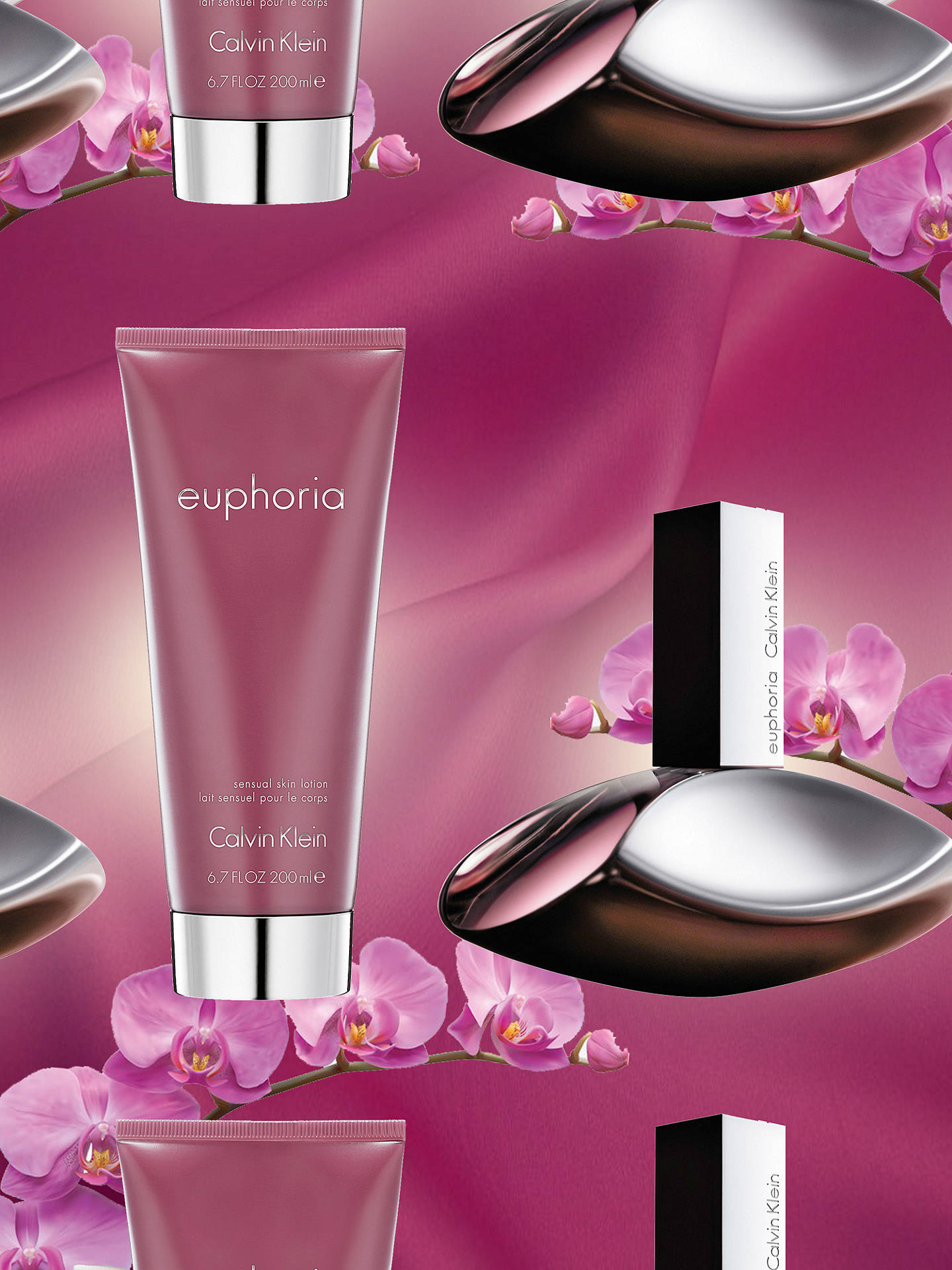 BuyCalvin Klein Euphoria For Women 50ml Eau de Parfum Fragrance Gift Set Online at johnlewis.com