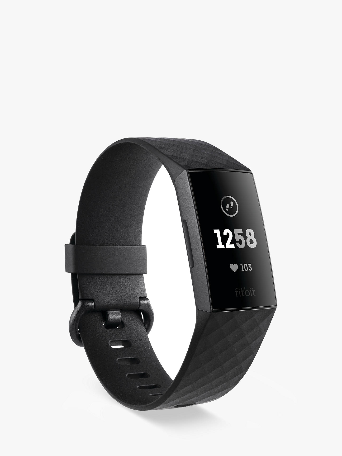 Fitbit Charge 3, Health and Fitness Tracker at John Lewis