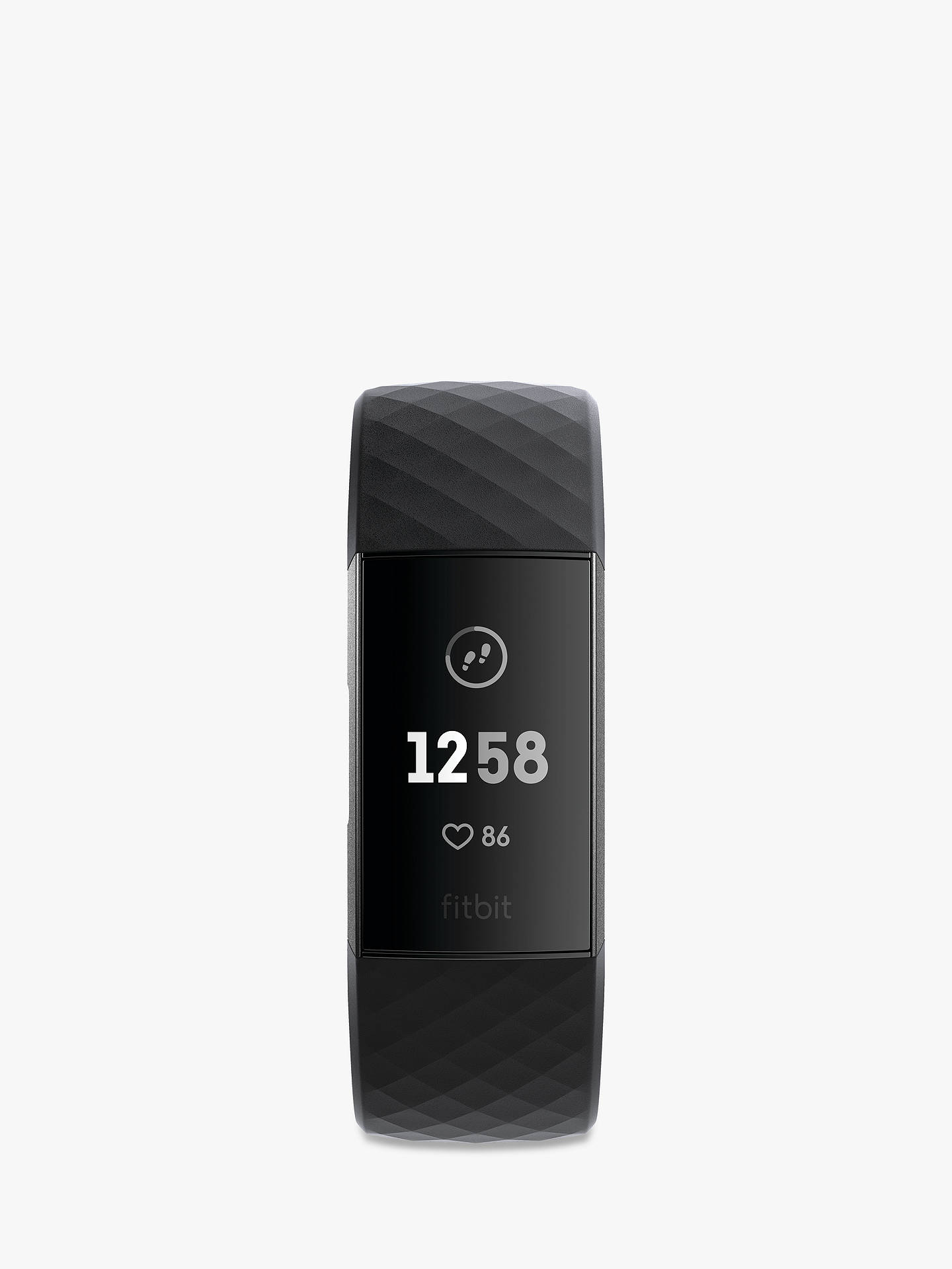 Fitbit Charge 3, Health and Fitness Tracker, Black