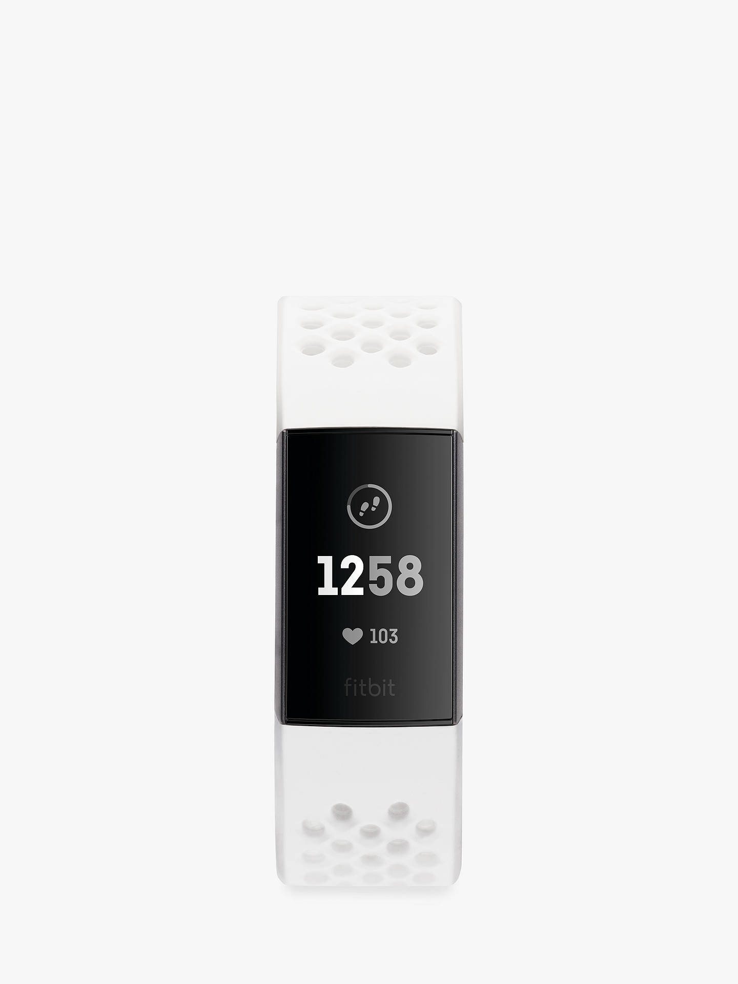 Fitbit Charge 3 Special Edition, Health and Fitness Tracker with NFC, White