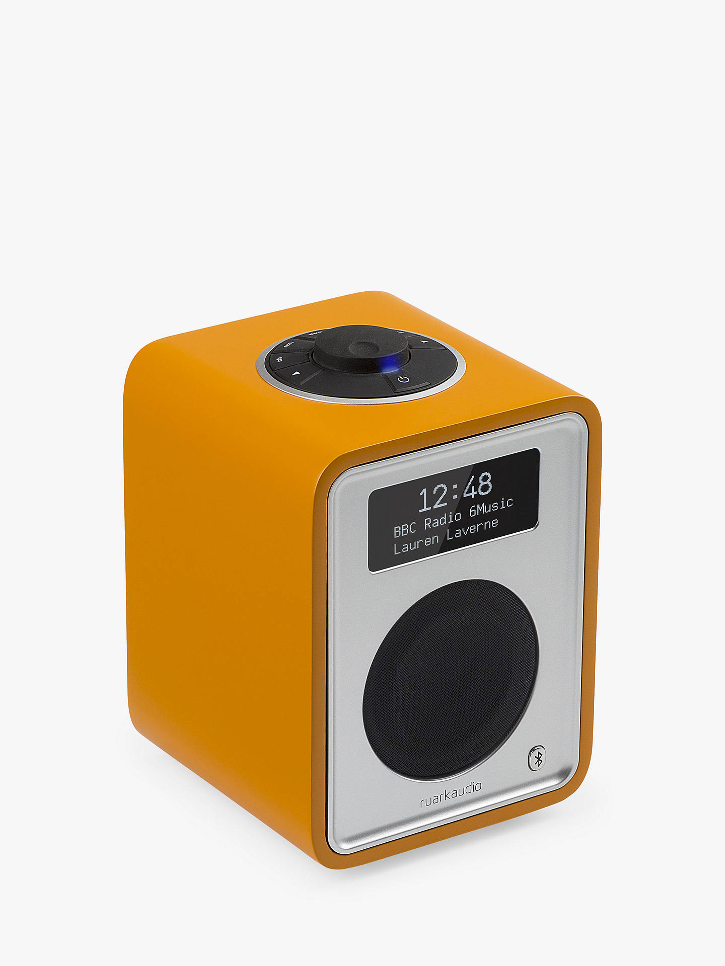 Buy Ruark R1 MK3 DAB Bluetooth Digital Radio, Burnt Saffron Online at johnlewis.com