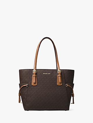 MICHAEL Michael Kors Voyager East West Signature Tote Bag