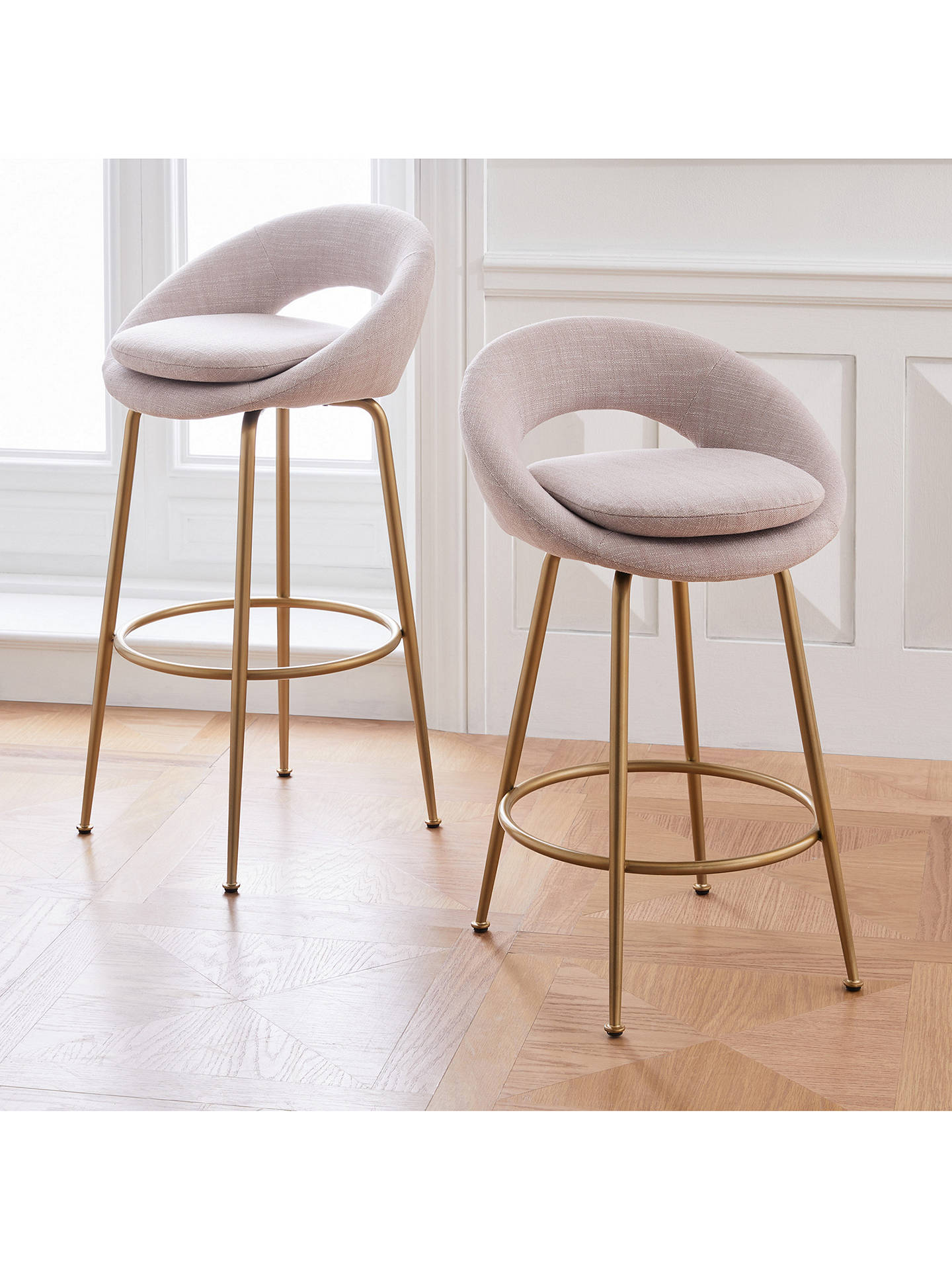 Pleasing West Elm Orb Bar Stool Blush Bralicious Painted Fabric Chair Ideas Braliciousco