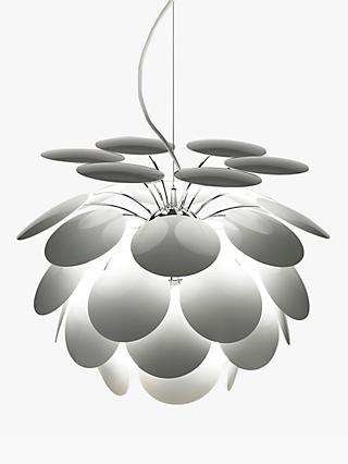 Marset Discoco Ceiling Light White & Ceiling Lighting | John Lewis u0026 Partners