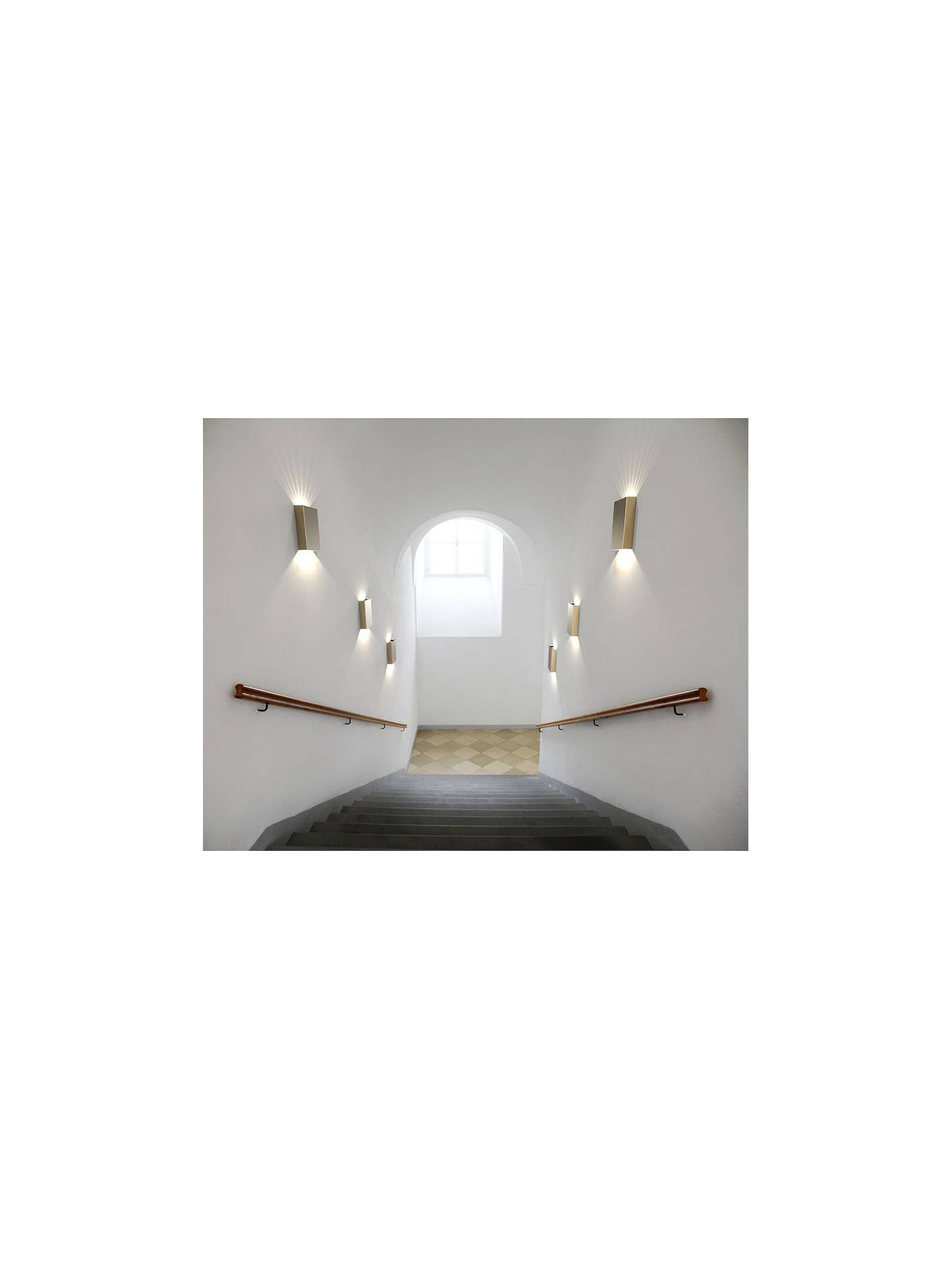 BuyNordlux Design For The People Fold LED Outdoor Wall Light, Brass Online at johnlewis.com