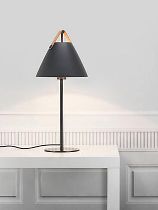 Nordlux Design For The People Strap Table Lamp, Black