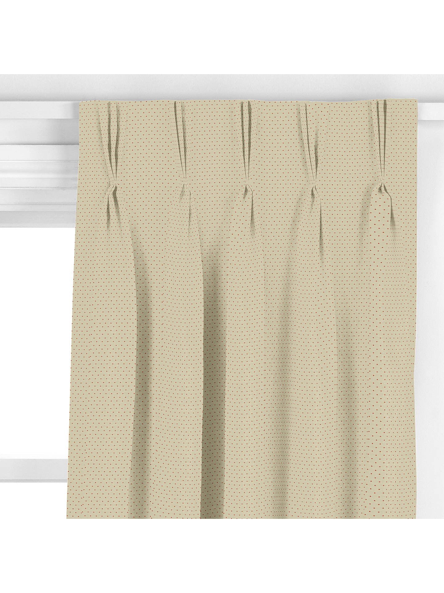 BuyJohn Lewis & Partners Finsbury Trellis Curtain, Gold Online at johnlewis.com