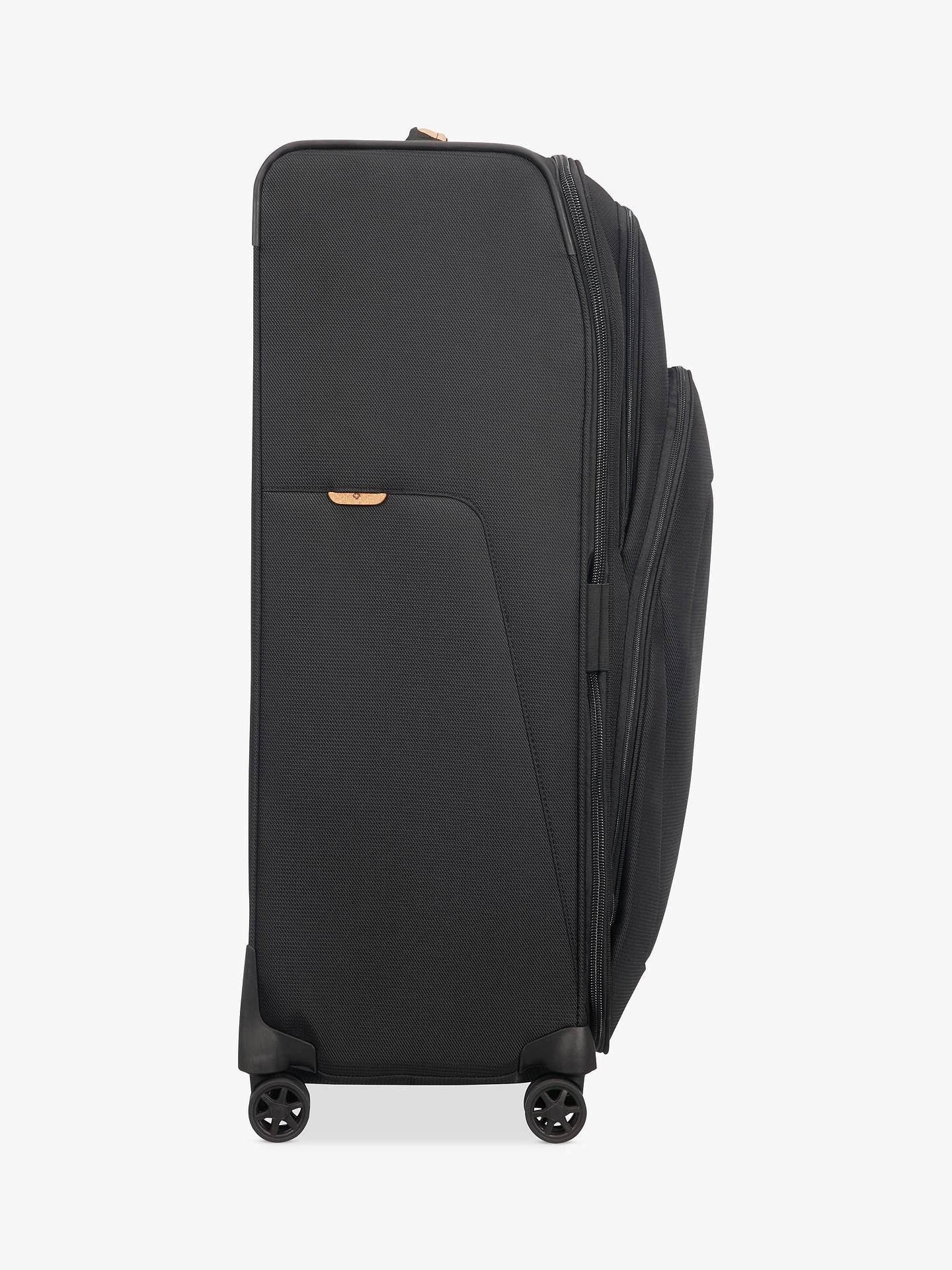 327a40b1c90bc ... Buy Samsonite Spark SNG ECO 4-Wheel 82cm Large Case, Black Online at  johnlewis ...